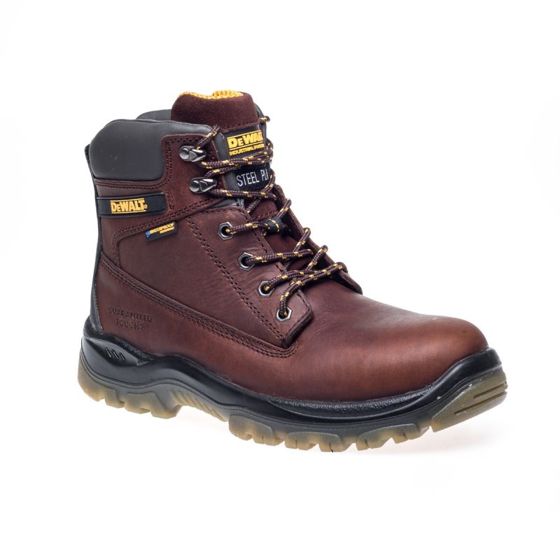 ea15bc91048 Dewalt TITANIUM Tan Leather Breathable Waterproof Safety Boots