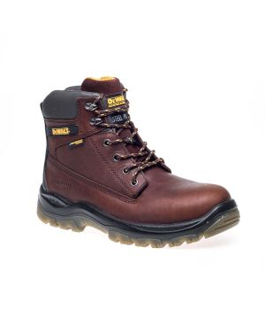 Dewalt TITANIUM Tan Leather Breathable Waterproof Safety Boots