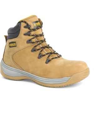 AP314CM Apache Wheat Safety Hiker Boots
