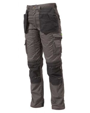 Apache Knee Pad Holster Trousers Grey/Black