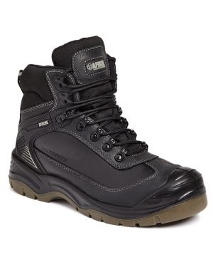 APACHE RANGER SAFETY BOOTS BLACK