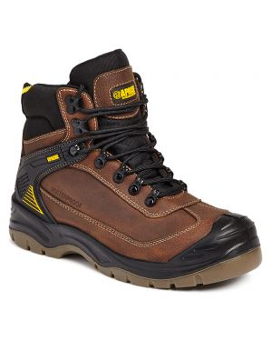 Apache Ranger Safety Boots Brown