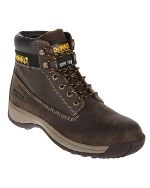 Dewalt Apprentice Brown Nubuck Hiker Safety Boots
