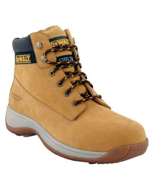 Dewalt Apprentice Wheat Nubuck Hiker Safety Boots