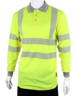 Hi Viz Polo (Long Sleeves)