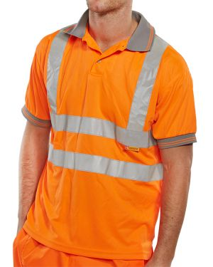 Rail Spec Hi Vis Polo Shirt