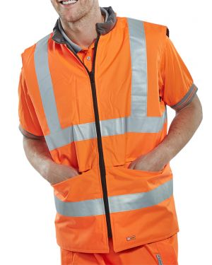 Orange Hi Viz Bodywarmer