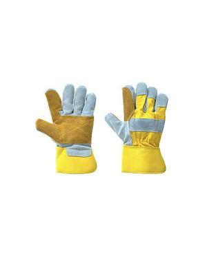 Gold High Quality, Heavy Duty Double Palm Rigger Glove ( PACK OF 10 )