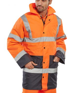 Executive 2-Tone Traffic Jacket