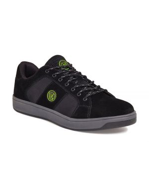 Apache Kick Black Safety Trainers