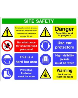 SSCONS0011 | Site Safety Sign 4