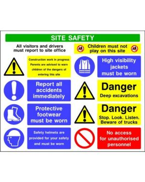 SSCONS0012 | Site Safety Sign 5