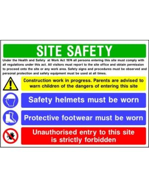 SSCONS0014 | Site Safety Sign 1