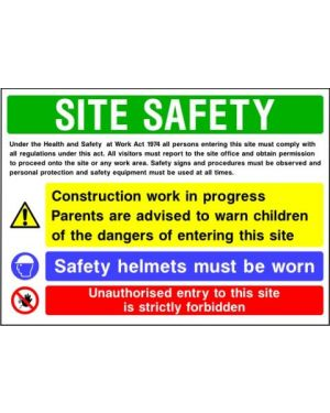 SSCONS0015 | Site Safety Sign 2