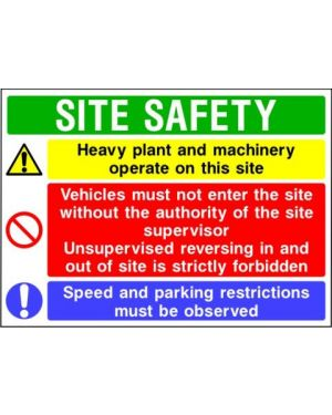 SSCONS0016 | Site Safety Sign 3