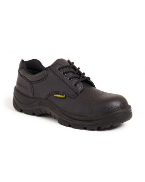 Sterling Steel SS402SM Black leather Safety Shoes