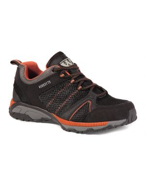 Worksite SS607SM Black Mesh Safety Trainers