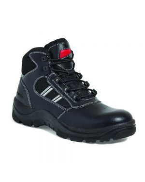 SS704CM Airside Non Metallic Leather Safety Boots