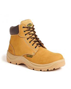 SS819SM Sterling Steel Wheat Nubuck Hiker Safety Boots