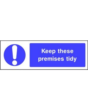 SSMANDMG0005 | Mandatory: Keep these premises tidy