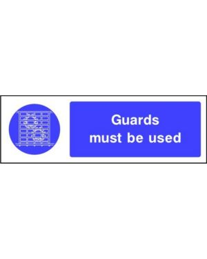 SSMANDMG0006 | Mandatory: Guards must be used