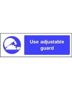 SSMANDMG0007 | Mandatory: Use adjustable guard