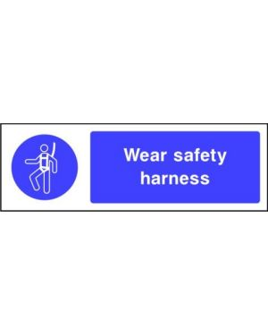 SSMANDMG0008 | Mandatory: Wear safety harness
