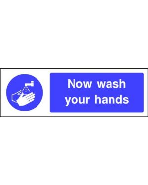 SSMANDMG0009 | Mandatory: Now wash your hands