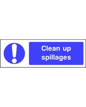 SSMANDMG0010 | Mandatory: Clean up spillages