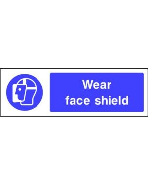 SSMANDP0001 | Mandatory: Wear face shield