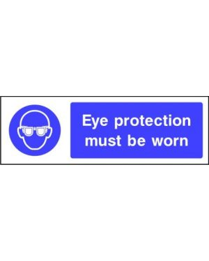 SSMANDP0004 | Mandatory: Eye protection must be worn