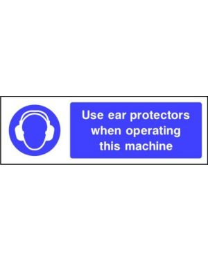 SSMANDP0008 | Mandatory: Use ear protectors when operating this machine