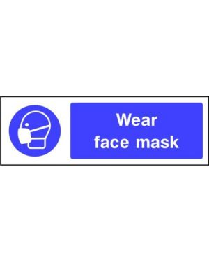SSMANDP0011 | Mandatory: Wear face mask