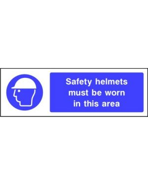 Mandatory: Safety Helmets Must Be Worn In This Area