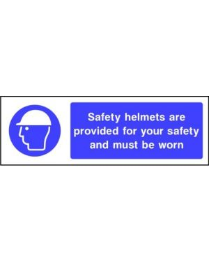 Mandatory: Safety Helmets Are Provided For Your Safety...