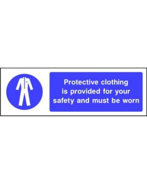 SSMANDPC0002 | Mandatory: Protective clothing is povided for your safety and must be worn