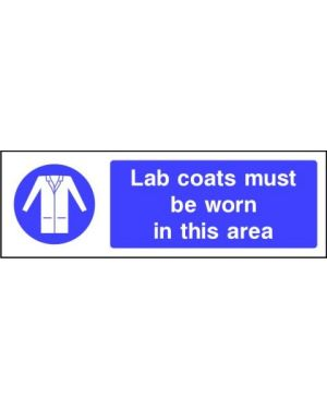 Mandatory: Lab Coats Must Be Worn In This Area
