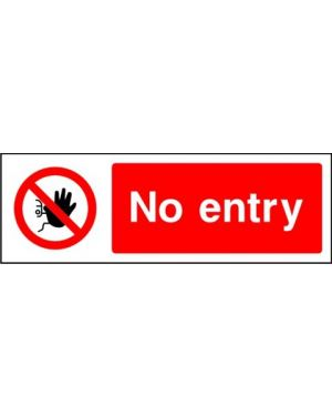 SSPROHA0007 | Prohibition: no entry