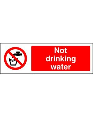 SSPROHG0001 | Prohibition: not drinking water