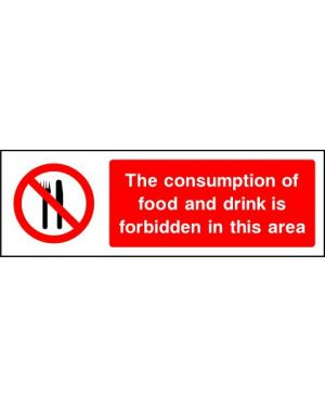 SSPROHG0004 | Prohibition: The consumption of food and drink is forbidden
