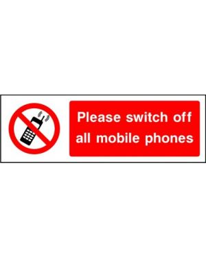SSPROHG0010 | Prohibition: please switch of all mobile phones