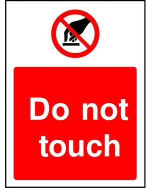 Prohibition: Do Not Touch