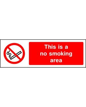 SSPROHS0002 | Prohibition: this is a no smoking area