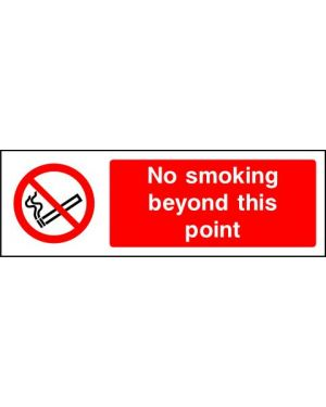 SSPROHS0004 | Prohibition: no smoking beyond this point