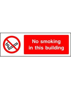 SSPROHS0010 | Prohibition: no smoking in this building