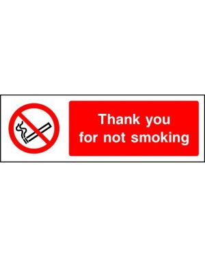 SSPROHS0011 | Prohibition: Thank you for not smoking