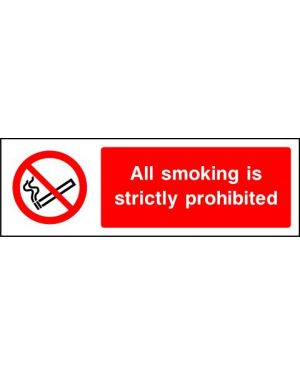 Prohibition: All Smoking Is Strictly Prohibited