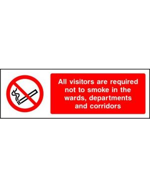 Prohibition: All Visitors Are Required Not To Smoke...
