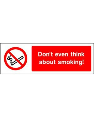 Prohibition: Don't Even Think About Smoking!