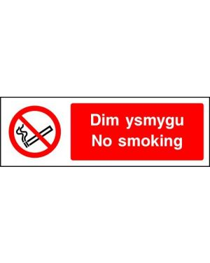 Prohibition: Dim Ysmygu No Smoking